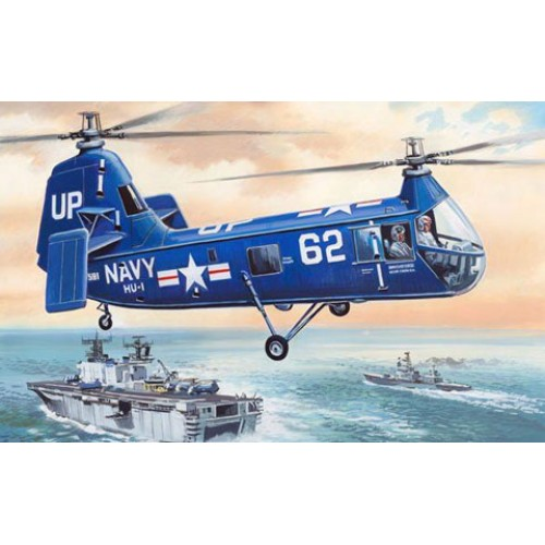 AMO-72136 1/72 Piasecki HUP-1/HUP-2 Retriever US NAVY Helicopter model kit