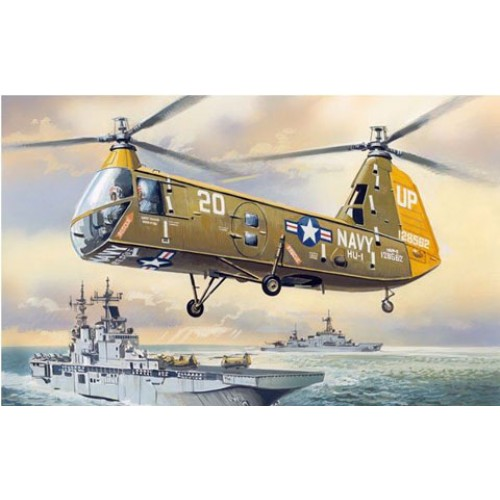AMO-72137 1/72 Piasecki HUP-2/HUP-3 Retriever US NAVY Helicopter model kit