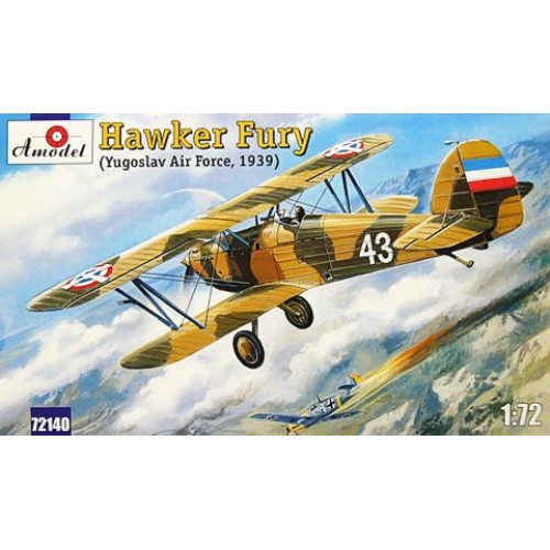 AMO-72140 1/72 Hawker Fury Yugoslav Air Force 1939 model kit