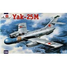 AMO-72143 1/72 Yakovlev Yak-25M Soviet Jet Fighter model kit