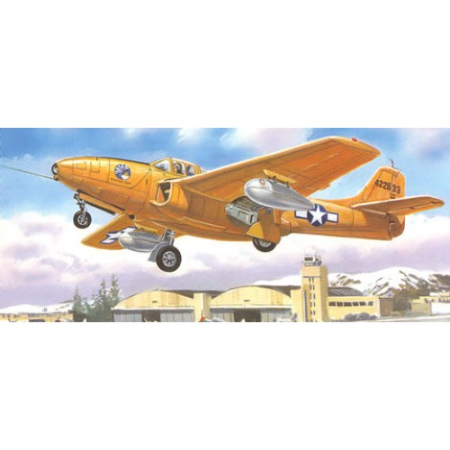 AMO-72145 1/72 Bell P-59A/B Airacomet US Jet Fighter model kit