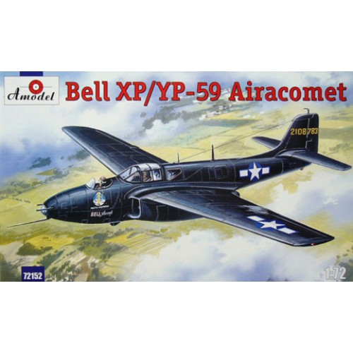 AMO-72152 1/72 Bell XP-59/YP-59 Airacomet US Jet Fighter of 40s model kit