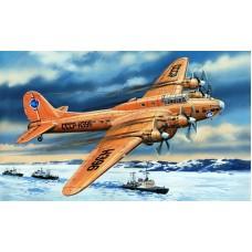 AMO-72155 1/72 Petlyakov Pe-8 Soviet Transport Aircraft of Polar Aviation model kit