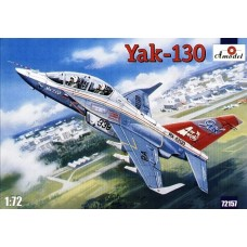 AMO-72157 1/72 Yakovlev/AerMacchi Yak-130 Russian Modern Jet Trainer aircraft model kit