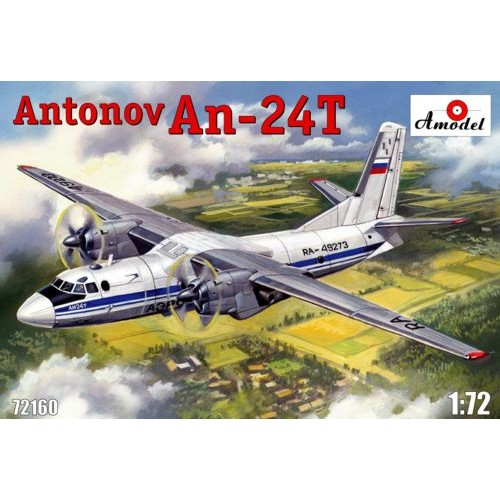 AMO-72160 1/72 AN-24 T model kit