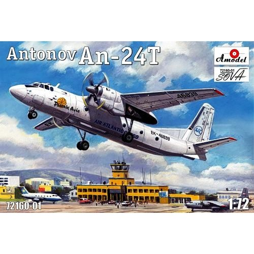 AMO-72160-01 1/72 AN-24 T model kit