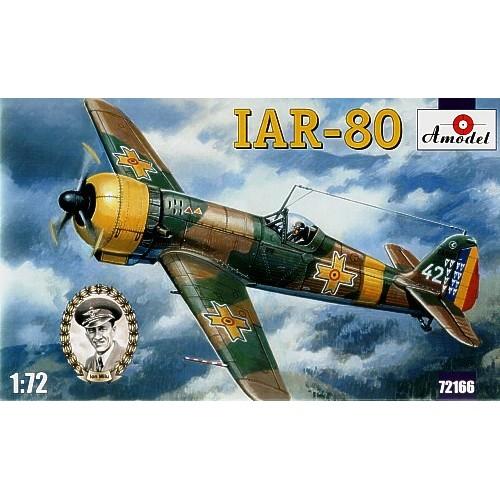 AMO-72166 1/72 IAR-80 Romanian WW2 Fighter model kit