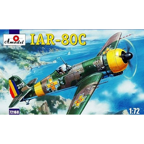 AMO-72168 1/72 IAR-80C Romanian WW2 Fighter model kit