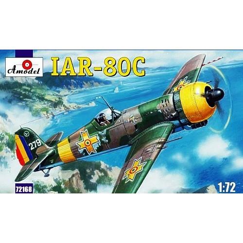 AMO-72168 1/72 IAR-80C Romanian WW2 Fighter model kit