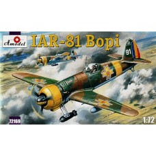 AMO-72169 1/72 IAR-81 'Bopi' Romanian WW2 Fighter-Bomber model kit