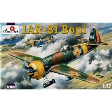 AMO-72169 1/72 IAR-81 'Bopi' Romanian WW2 Fighter-Bomber model kit