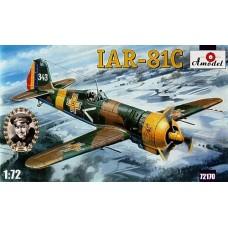 AMO-72170 1/72 IAR-81C Romanian WW2 Fighter model kit