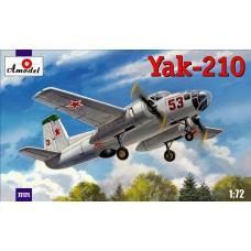 AMO-72171 1/72 Yakovlev Yak-210 Soviet Twin-Engine Trainer Bomber (for navigators training) model kit