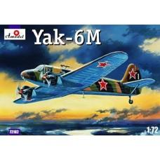 AMO-72182 1/72 Yakovlev Yak-6M Soviet WW2 Transport Aircraft model kit