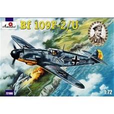 AMO-72186 1/72 Messerschmitt Bf-109F-2/U German WW2 Fighter (Galland Luftwaffe Ace) model kit