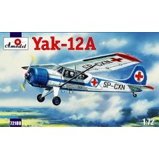AMO-72188 1/72 Yakovlev Yak-12A Soviet Multipurpose aircraft model kit