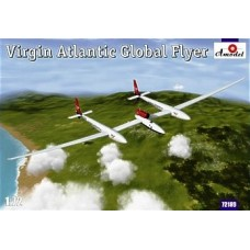 AMO-72189 1/72 Virgin Atlantic GlobalFlyer Scaled Composites Model 311 (N277SF) Solo Nonstop Airplane Flight Around the World 2005 model kit