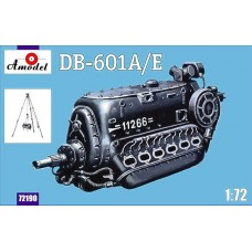 AMO-72190 1/72 Daimler-Benz DB-601A/E German aircraft engine built during World War II model kit