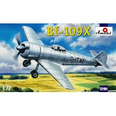 AMO-72191 1/72 Messerschmitt Bf-109X German Experimental Fighter (Bf-109F Version with BMW-801 Radial Engine) model kit
