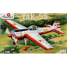AMO-72192 1/72 Yakovlev Yak-55 Soviet Aerobatic Aircraft model kit