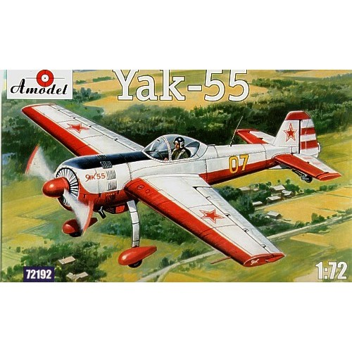 AMO-72192 1/72 Yakovlev Yak-55 Soviet Aerobatic Aircraft model kit