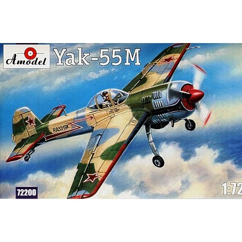 AMO-72200 1/72 Yakovlev Yak-55M Soviet Aerobatic Aircraft model kit