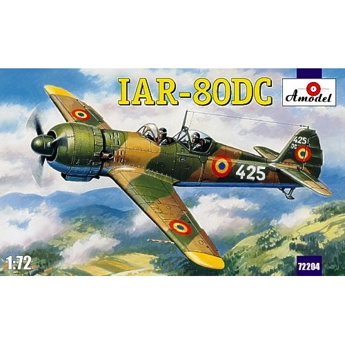 AMO-72204 IAR-80DC Romanian WW2 Fighter (Two Seater Version) model kit