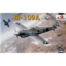 AMO-72209 1/72 Messerschmitt Bf-109A German Fighter model kit