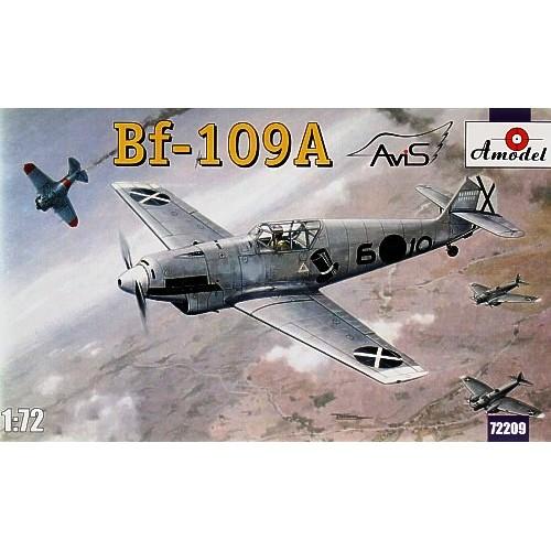 AMO-72209 1/72 Messerschmitt Bf-109A German Fighter model kit