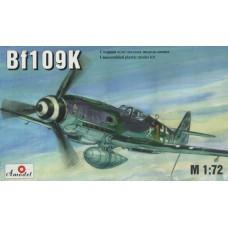 AMO-7221 1/72 Messerschmitt Bf-109K German WW2 fighter model kit