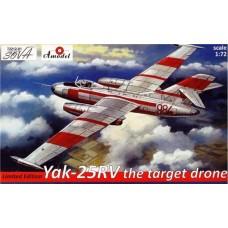 AMO-72212-01 1/72 Yak-25 RV Drone model kit