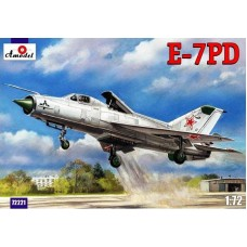 AMO-72221 1/72 Mikoyan E-7PD (MiG-21PD, '23-31', 'tip 92') experimental aircraft with shortened take-off and landing model kit