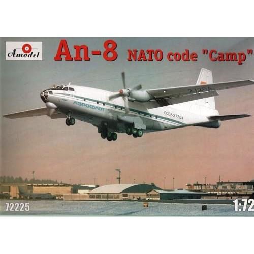 AMO-72225 1/72 An-8 Aeroflot model kit