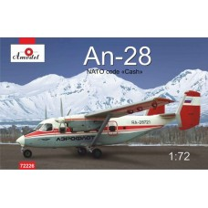 AMO-72226 1/72 An-28 Red USSR model kit