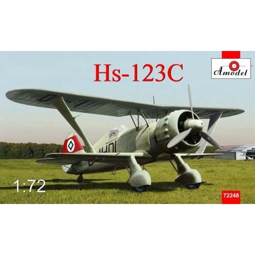 AMO-72248 1/72 Hs-123C model kit