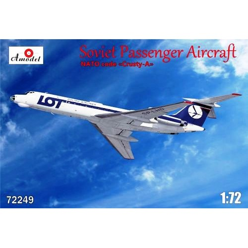 AMO-72249 1/72 Tu-134A LOT model kit