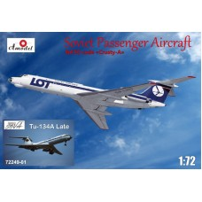 AMO-7224901 1/72 Tu-134A LOT + late Aeroflot model kit