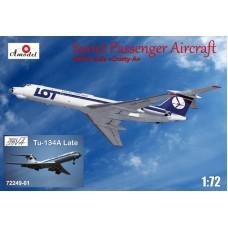AMO-7224901 1/72 Tu-134A LOT + late Aeroflot model kit