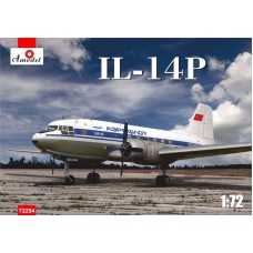 AMO-72254 1/72 Ilyushin Il-14P Soviet passenger aircraft of 1950yy model kit