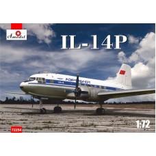 AMO-72254 1/72 Ilyushin Il-14P Soviet passenger aircraft of 1950yy model kit