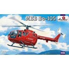 AMO-72255 1/72 Bo-105 ambulance model kit