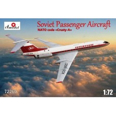 AMO-72260 1/72 Tu-134A DDR model kit