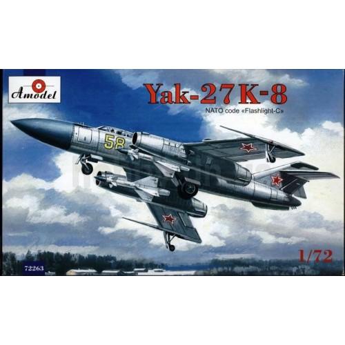 AMO-72263 1/72 Yak-27K model kit
