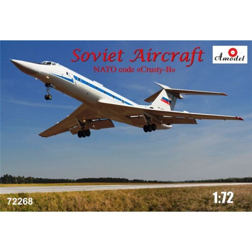 AMO-72268 1/72 Tu-134UBL model kit
