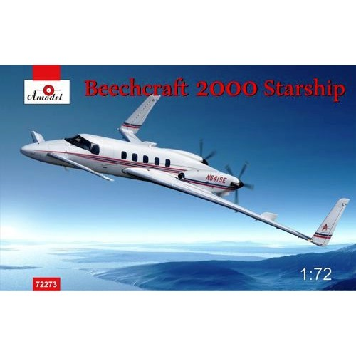 AMO-72273 1/72 Beech 2000 Starship model kit