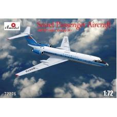 AMO-72276 1/72 Tu-134A Aeroflot model kit