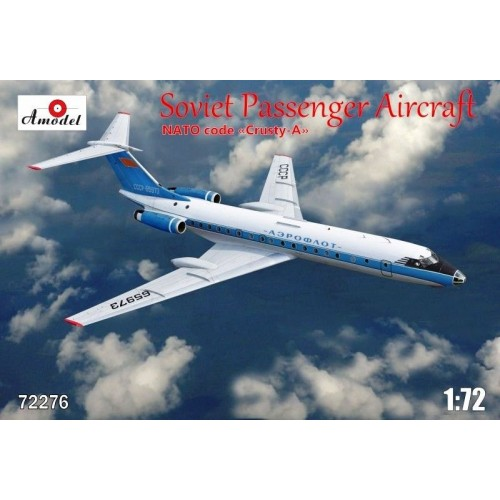AMO-72276 1/72 Tu-134A Aeroflot model kit