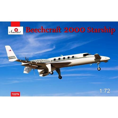 AMO-72279 1/72 Beech 2000 Starship model kit