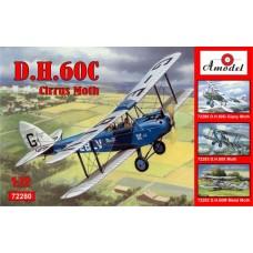 AMO-72280 1/72 de Havilland DH.60C Cirrus Moth model kit