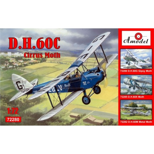 AMO-72280 1/72 de Havilland DH.60C Cirrus Moth model kit